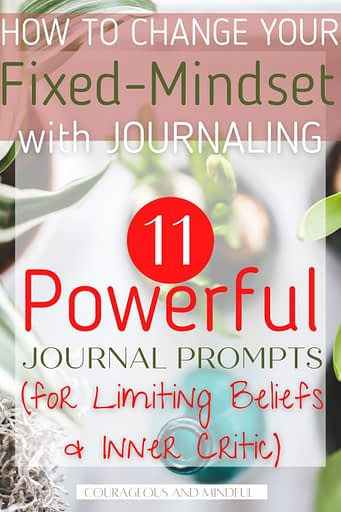 11 powerful journal prompts for limiting beliefs and inner critic