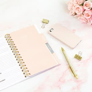 Notebook for therapeutic journaling